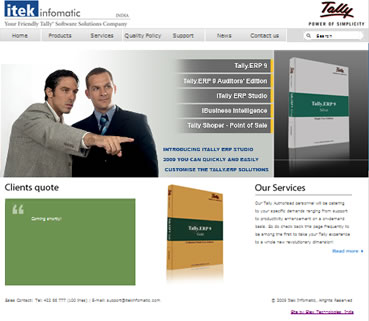 itek-infomatic-com-home-page